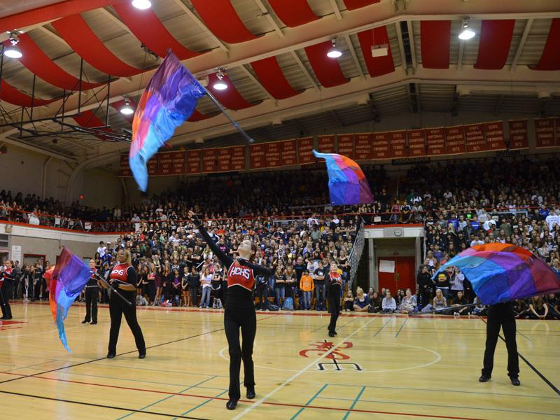 Color guard: activity or sport?