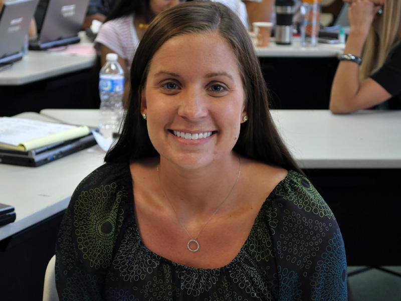Former Riverside Brookfield teacher joins Math Department