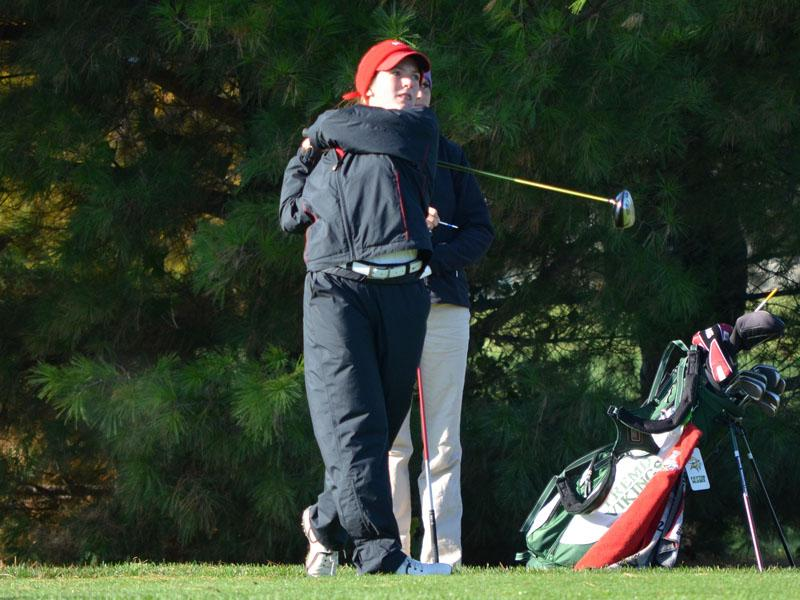 Girls golf finishes fourth at state meet