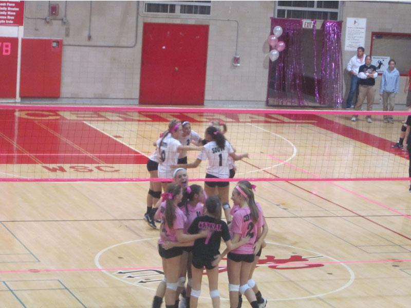 Volley+for+the+Cure+raises+funds+for+breast+cancer