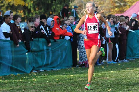 Jill Hardies takes Girls XC to State with a 5th place finish