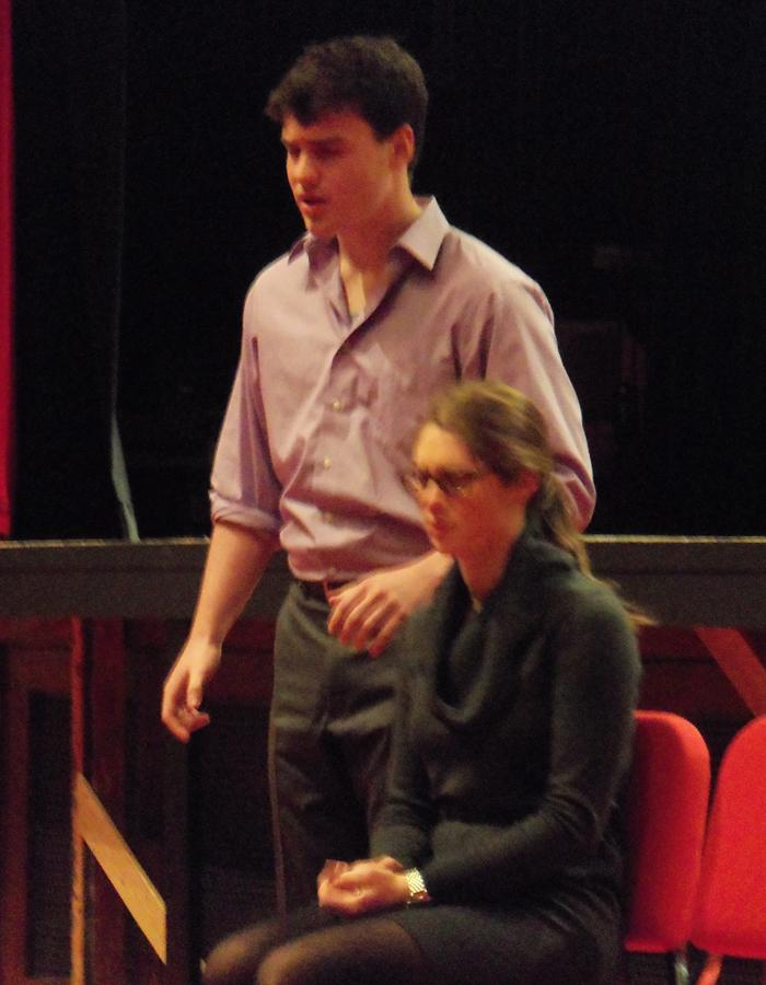 Forensics team performs in showcase