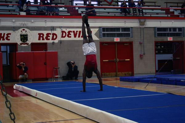 Red Devil gymnasts get into season