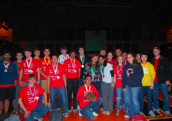 Science Olympiad team ranks fourth at state