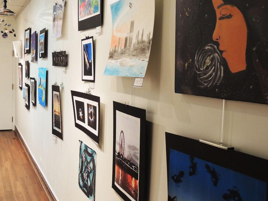 Art show gives life to homecoming