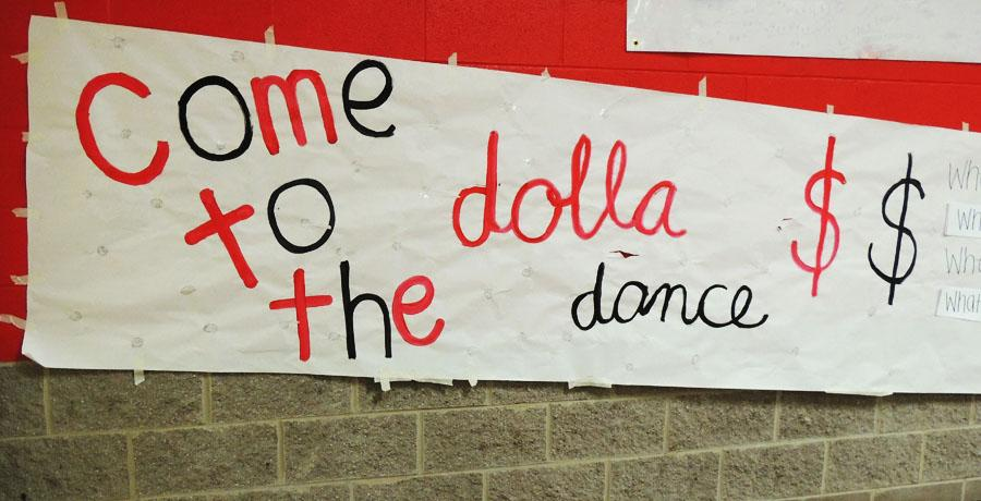 Dolla dancing for a teacher in need