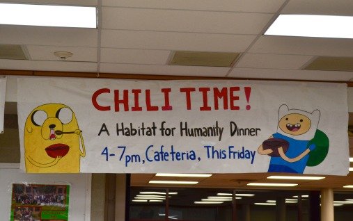 Habitat for Humanity holds its annual chili fundraiser
