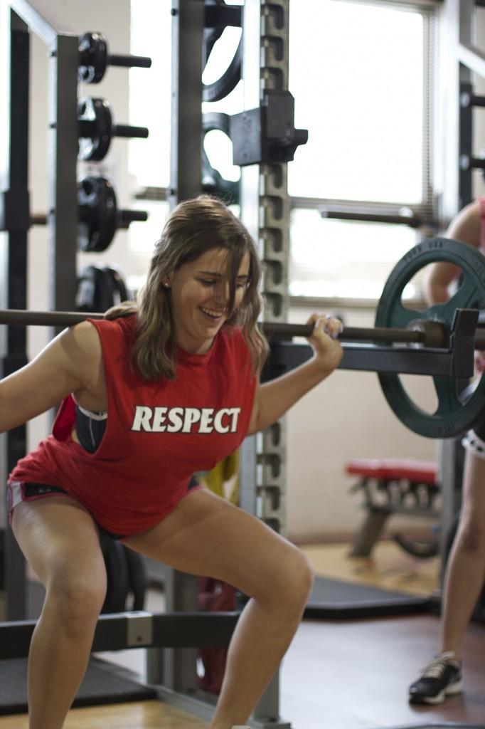 Lauren work out