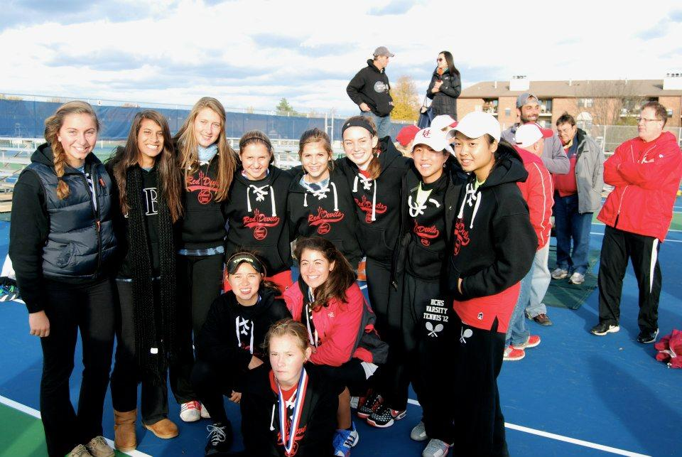 Girls+tennis+places+second+at+state