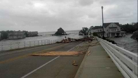 Hurricane Sandy decimates more than land, decimates freedom