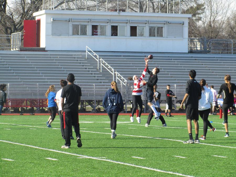 NHS holds annual Turkey Bowl
