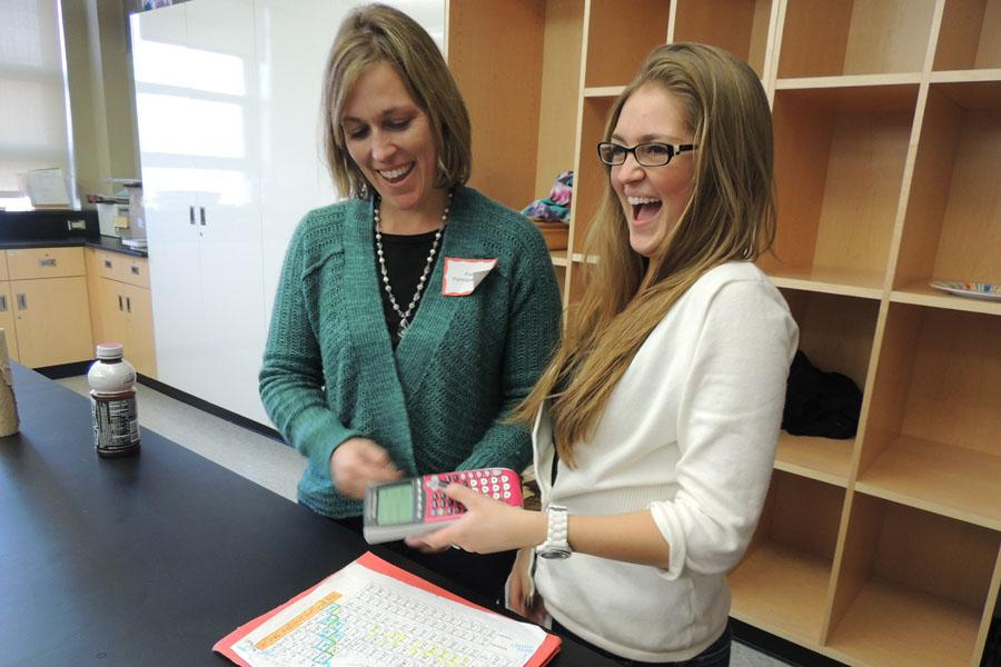 Parent Participation Day morphs teachers and students