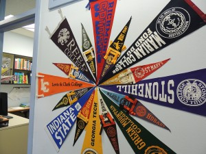 On May 1, seniors officially declared which college they will be attending this fall.