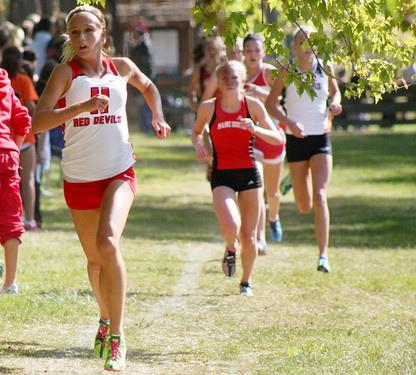 Girls cross country finishes 11 in state