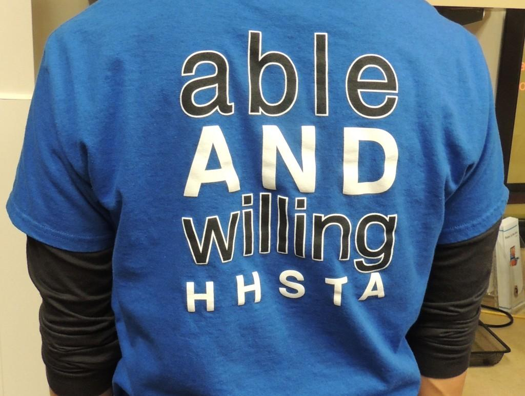 Able and Willing Shirt HHSTA
