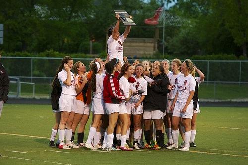 Girls' soccer rallies to win regional final
