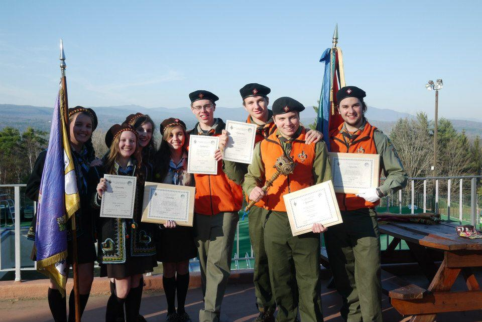 Orian Shkrobut participates in rigors of Ukrainian scouting