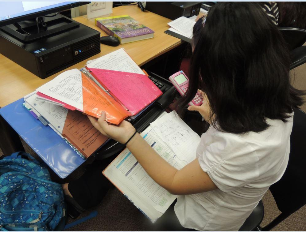 Struggles of upper-classmen study hall