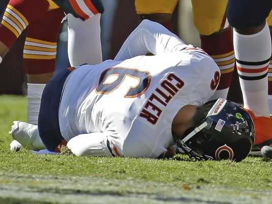 Cutler's injury could spell trouble for Bears