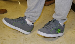 Mens' Fashion: Heelys shoes wheel back into style