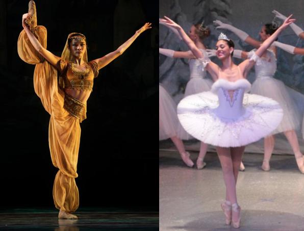 Dancers divide: ballerinas dance for different companies