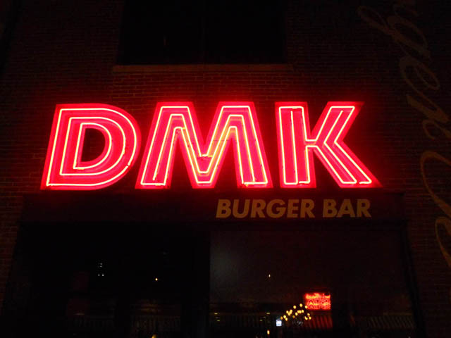 DMK Burger Bar doesn't disappoint