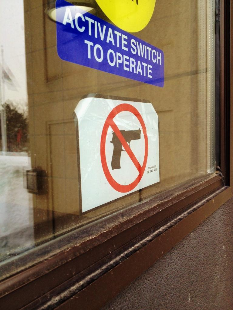 New Concealed Carry Law summons stickers and safety concerns for Central