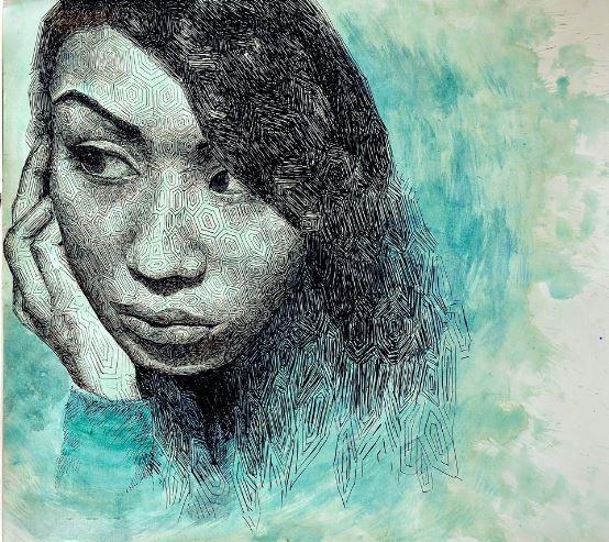 Painting People: Hu draws her peers
