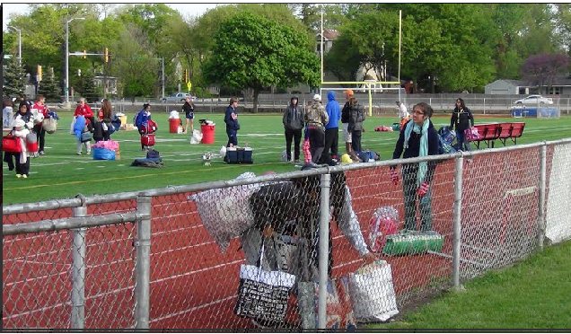 Students participate in 24 Hour Relay