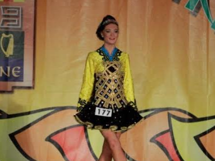 O'Rourke excels in Irish dance