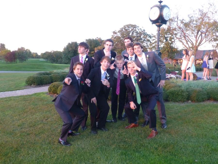 Various Central Homecoming goers pose to show the hottest styles for fall dances.