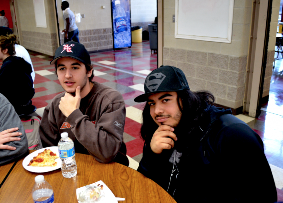 Students participate in No Shave November.