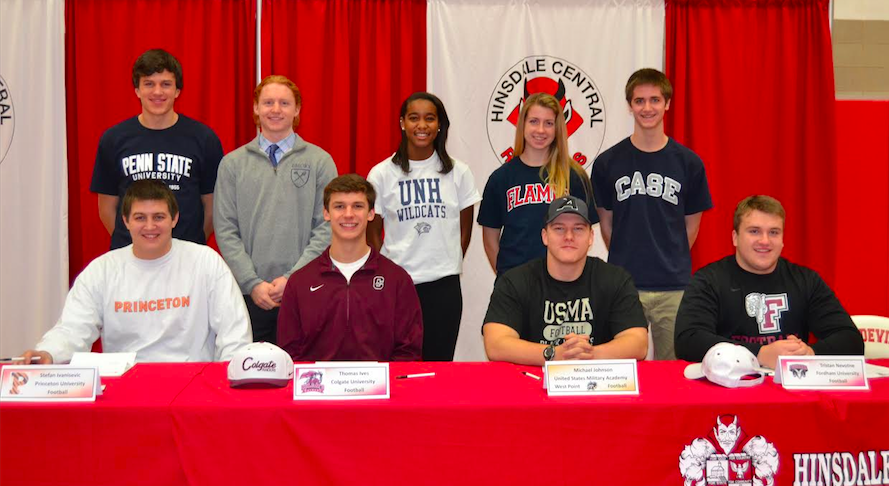 8+seniors+signed+to+their+respective+colleges+for+athletics.+%0ABack+Row+%28from+left%29%3A+Wes+Bergevin%2C+Evan+Floersch%2C+Sydney+Griffin%2C+Jenny+Saviski%2C+and+Ben+Chapman.%0AFront+Row+%28from+left%29%3A+Stefan+Ivanisevic%2C+Thomas+Ives%2C+Michael+Johnson%2C+and+Tristan+Nevotne.