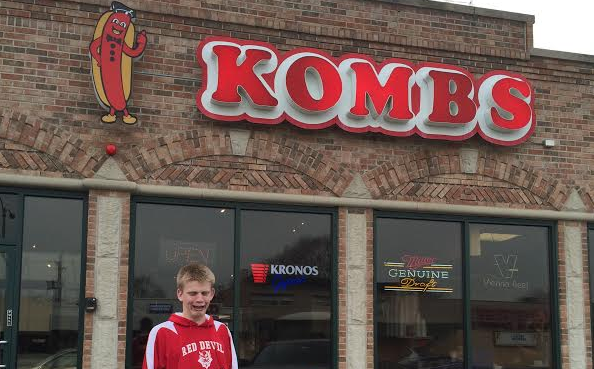 Kombs serves a variety of tasty food