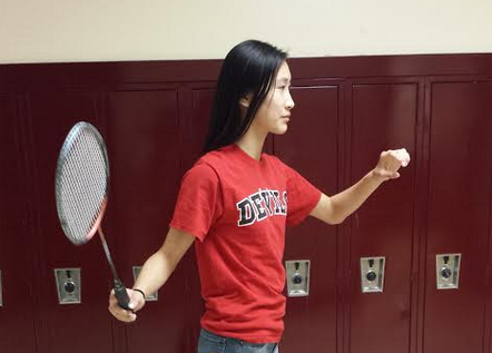 Sophomore competes her way onto varsity badminton