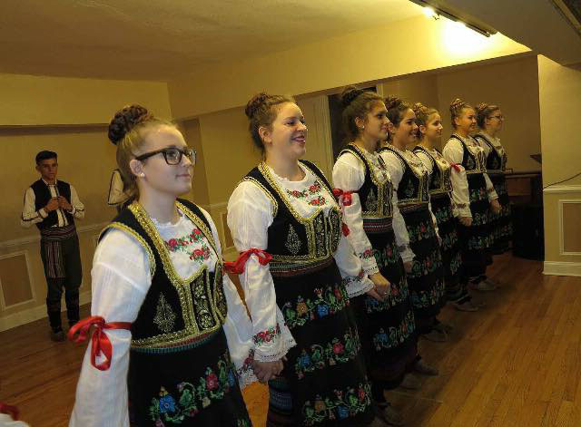Teodora Cirovic, sophomore, reunited with her heritage and started dancing in the Traditional Serbian Folklore Dance Group 'Moravac' last year.