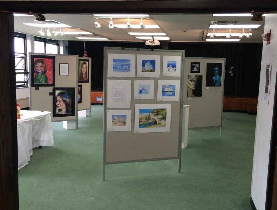 Room 216 held a showcase of student art throughout the weekend of May 10 with many of the pieces winning various awards.