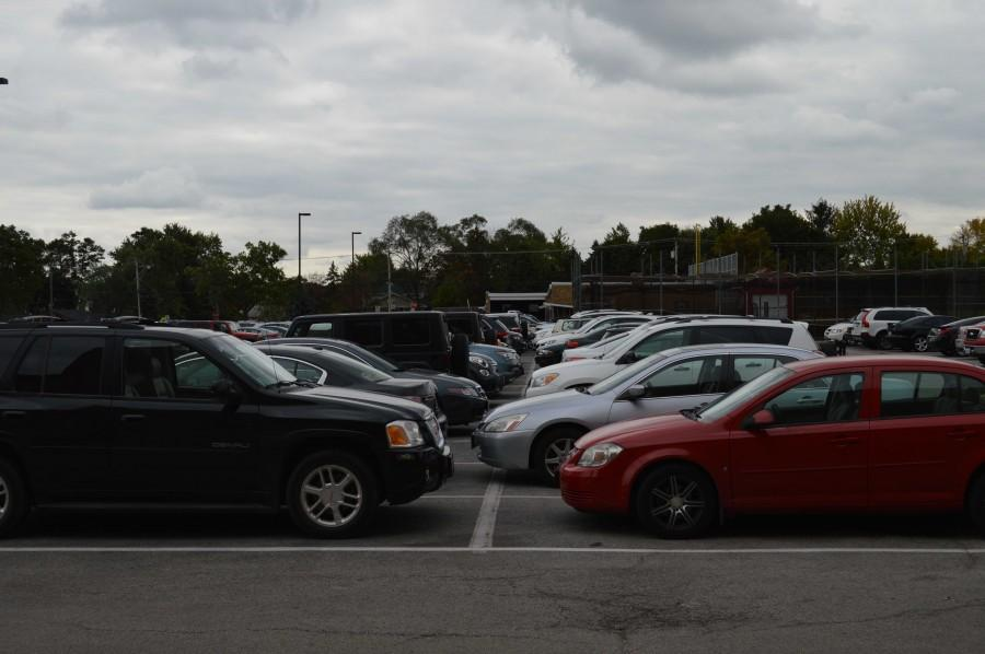 Various cars were broken into during the first week of October in a parking lot in Hinsdale (not pictured here).