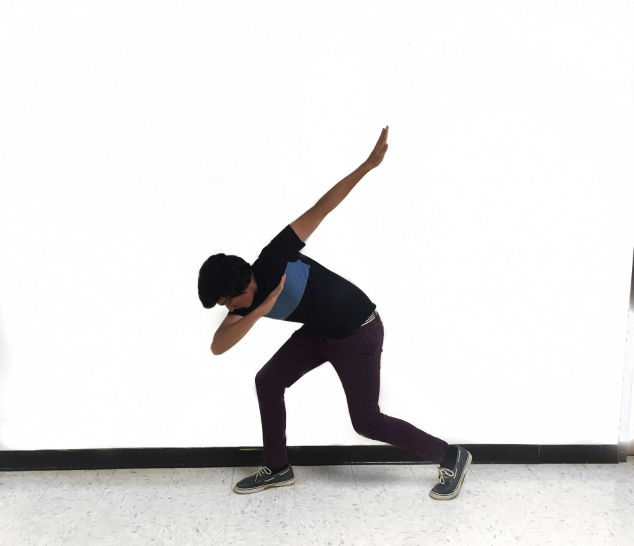 Pulkit Chauhan, sophomore, makes time to practice hip hop dancing for its enjoyment.