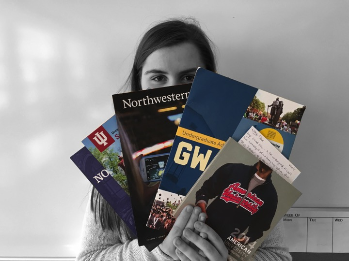 Sophomore+Hannah+Anderson+has+started+the+college+process+planning+early+and+offers+tips+to+young+students+thinking+about+their+futures.+