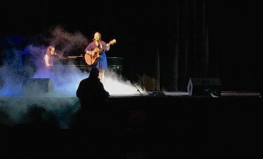 Blair Wilder sings in the 2016 Variety Show which did a two day show on Jan. 20 and Jan. 21.