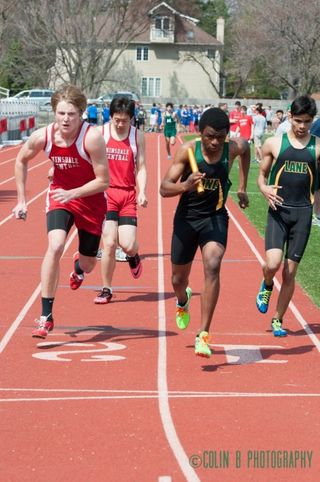 The boys' track team found success last year with multiple players running in the state tournament. This spring the team hopes for the same success under the new head coach, Mr. Lawrence.