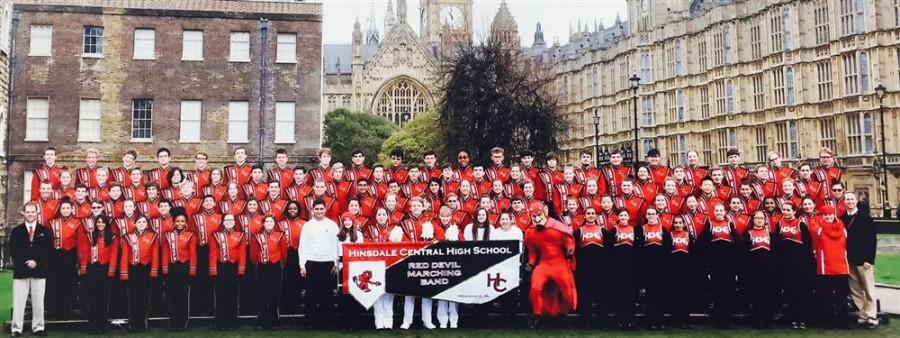 After getting invited last year to perform in London's New Year Day Parade, the Marching Band returned to celebrate  2016.