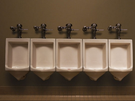 Urinals are too far apart; Central should model theirs from this image.