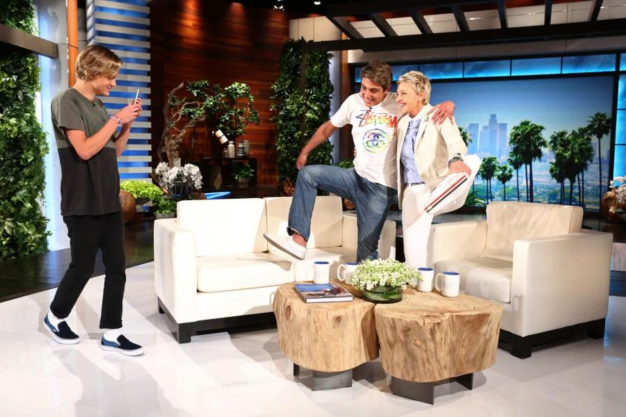 Damn Daniel and the creator of the video on Ellen after their over night popularity.