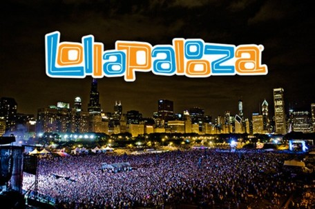 The crowds of Lollapalooza have the beautiful Chicago skyline as a backdrop for artists.