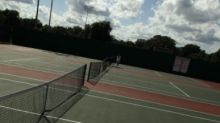 Boys tennis tournament in Chattanooga, Tennessee