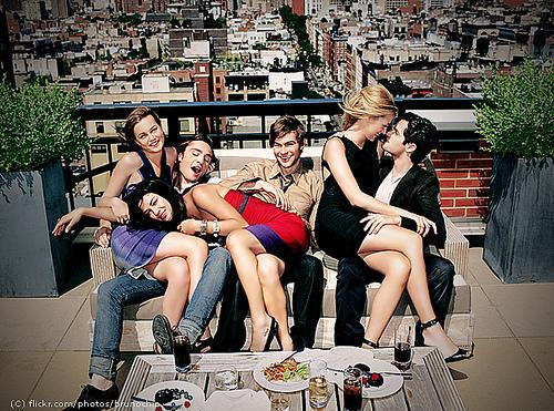 The Gossip Girl cast is known for its attractiveness and on-stage chemistry.