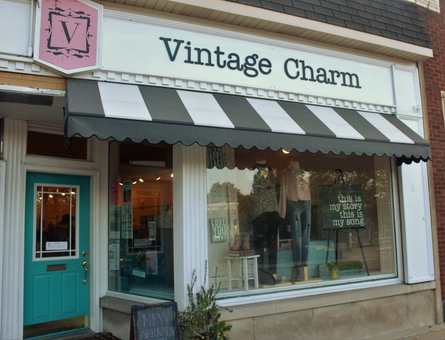 Vintage+Charm+approaches+its+first+year+anniversary+in+Clarendon+Hills+this+September%2C+and+has+become+a+favorite+for+many+students.+