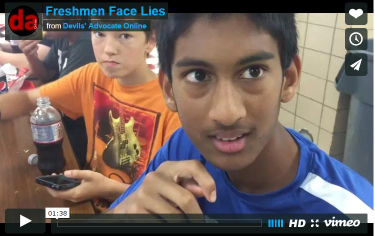 Freshmen+Face+Lies